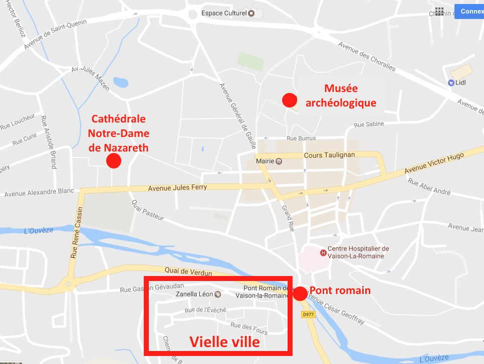 PLAN VAISON LA ROMAINE RIDEANDPICS